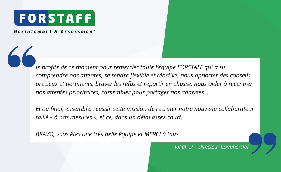 Forstaff-temoignage-client-directeur-commercial-agroalimentaire-recrutement-evaluation-mars-2021