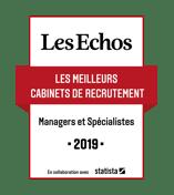 """Cabinet Lauréat du label des """"Meilleurs cabinets de recrutement 2019"""""""