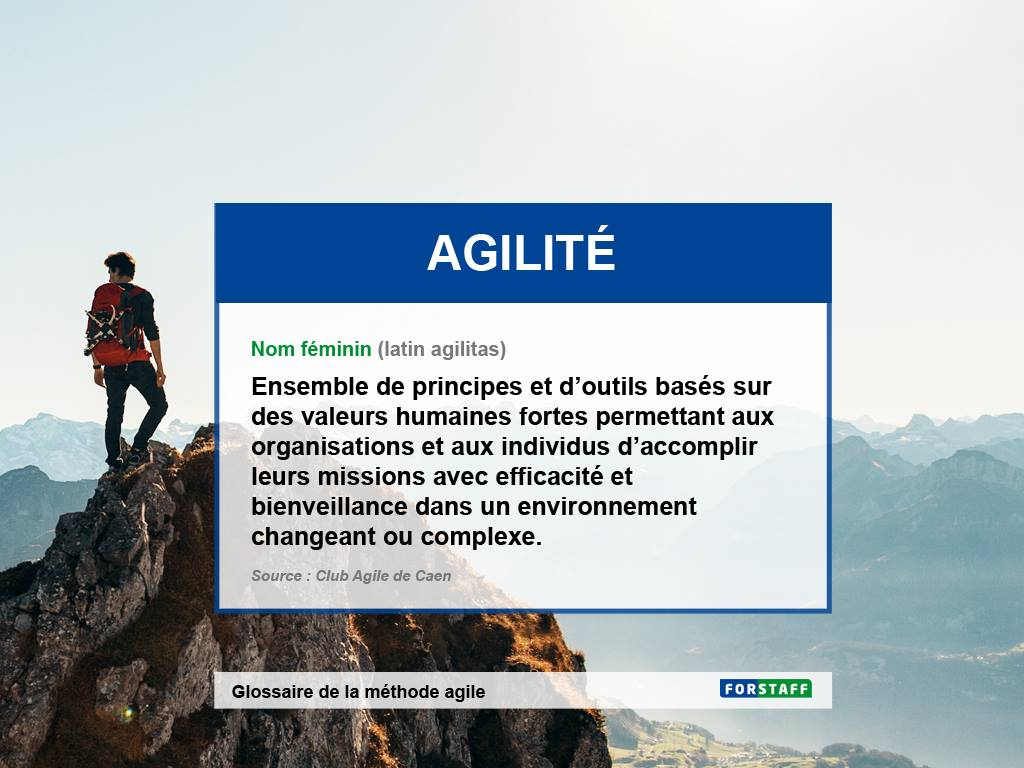 Glossaire de l'agilité en entreprise