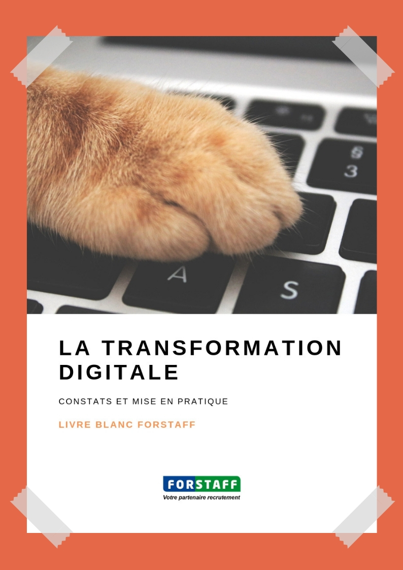 Couverture Livre Blanc Transformation Digitale